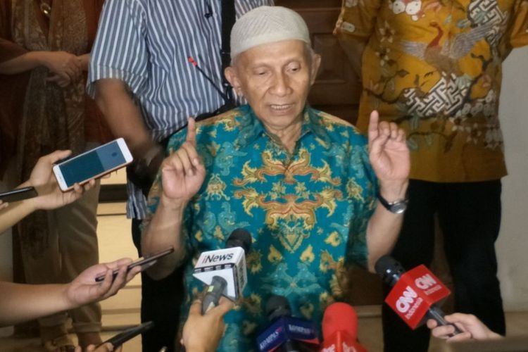 Manuver Amien Rais Jelang Jadi Saksi Kebohongan Ratna Sarumpaet
