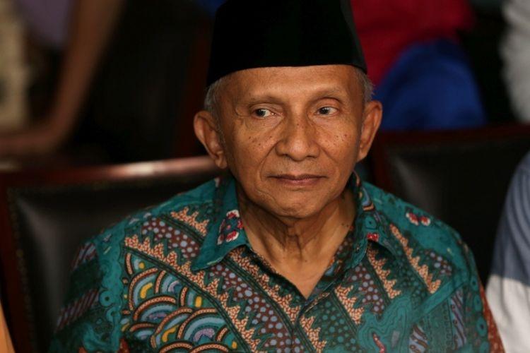 Apakah Tudingan Amien Rais kepada Kapolri Tito Punya Maksud Tertentu?
