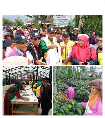 "Distan Aceh Tengah ""Uji Keterampilan"" Petani Kopi"