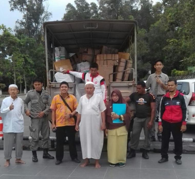 Masjid Agung Sungailiat Kirimkan Bantuan Kemanusiaan untuk Sulawesi Tengah