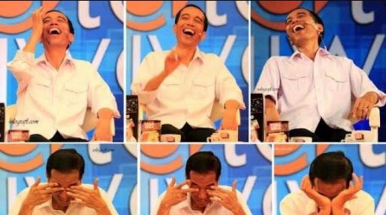 """Jokowi Tertawa dengan """"Hahaha"""", Bukan """"Kakaka""""!"""