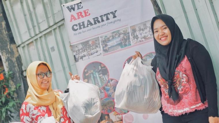 Ramai Pengunjung! Ketika We Are Charity Buka Bazar