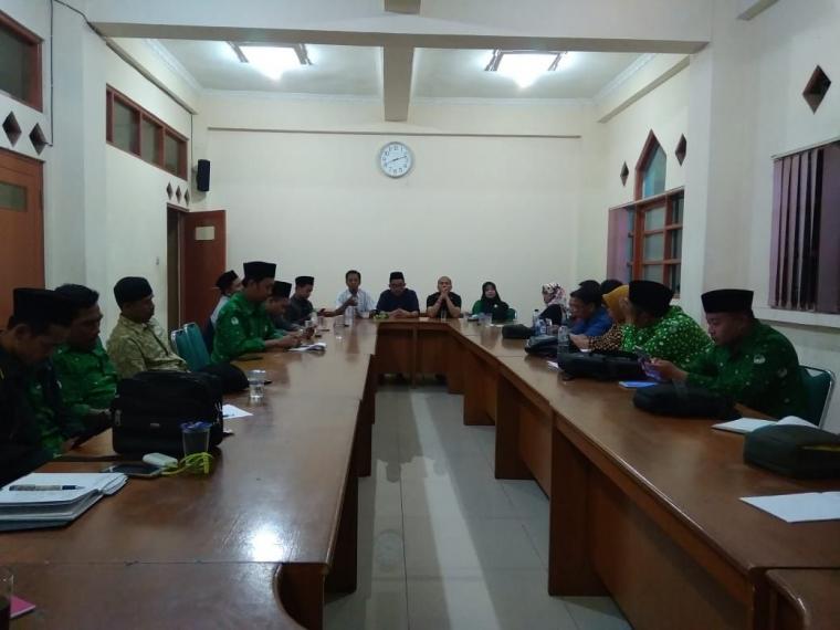 Rakor Pergunu Jawa Barat Gelar Rakor Bertajuk Diskirminasi Pengangkatan CPNS Jalur Tenaga Honorer