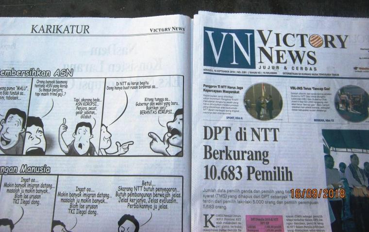Om Neo Berjenis Karikatur, Kartun Opini ataukah Kartun Editorial?