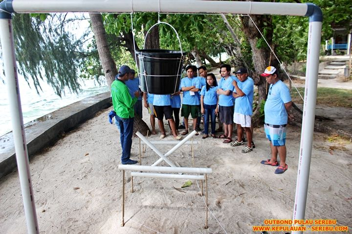 """Outbound Training"" Pulau Seribu"