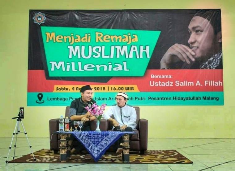 Petuah Salim A Fillah untuk Muslimah Milenial
