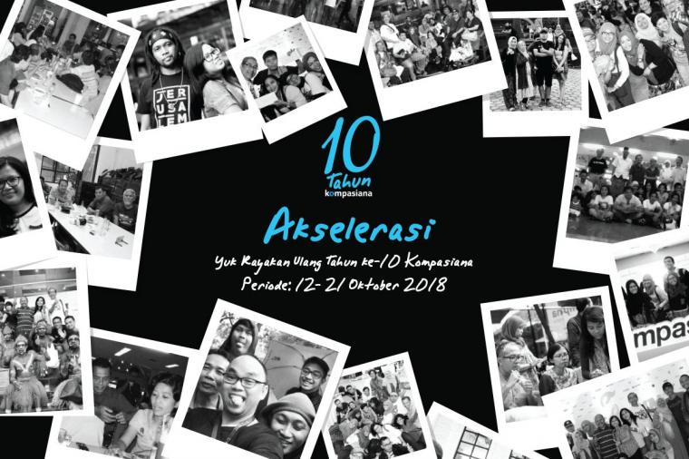 Hari Terakhir! Sambut 10 Tahun Kompasiana dengan Video Menarik Versimu