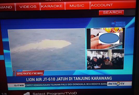 Gegabah, Televisi Siarkan Gambar Kartu Identitas dan Barang Pribadi Korban Lion Air JT 610
