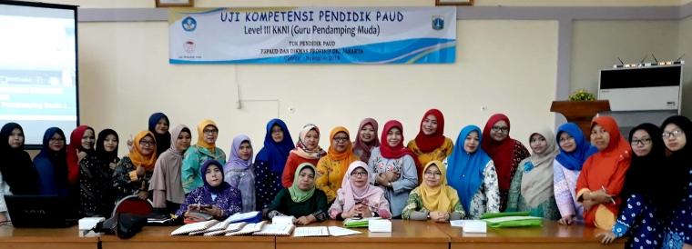 Uji Kompetensi Pendidik PAUD di P3PNFI Kebon Jeruk