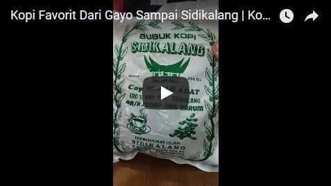 Kopi Gayo Aceh Paling Favorit
