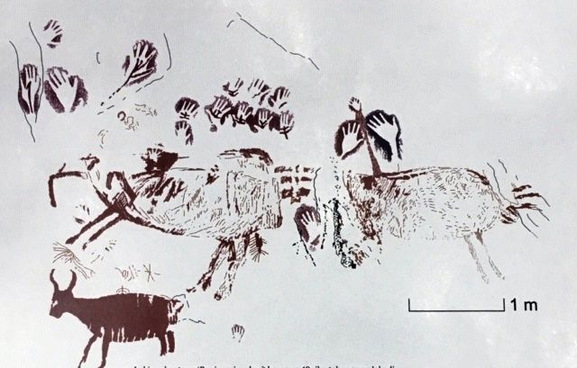Gambar Cadas Tertua di Dunia Ada di Indonesia