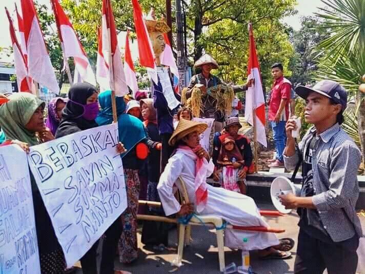 Bendera dan Petani Indramayu