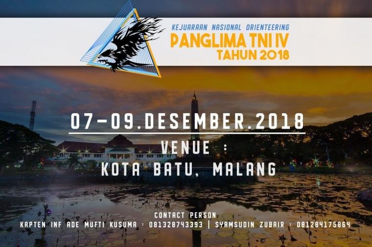 Siap-siap, Kejurnas Orienteering Dihelat di Malang