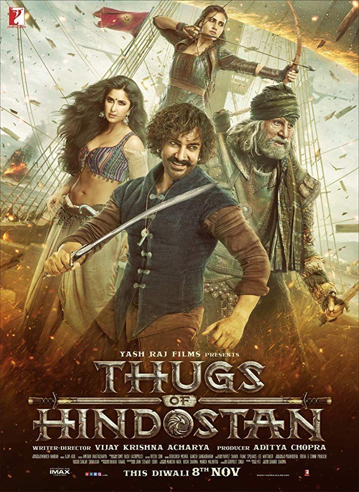 """""""Thugs of Hindostan"""", Film Bajak Laut India Terbaru"""