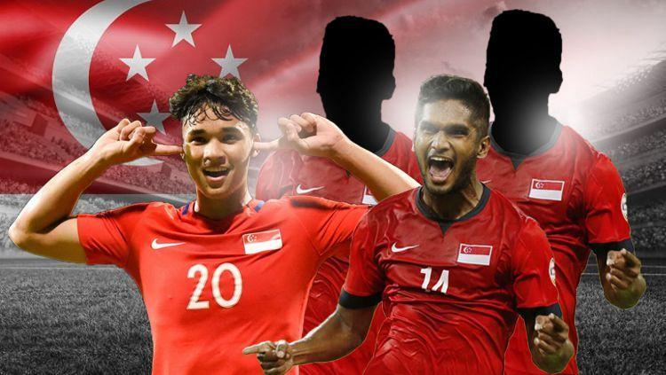 3 Pemain Singapura Jebolan Eropa Ini, Patut di Waspadai Timnas Indonesia