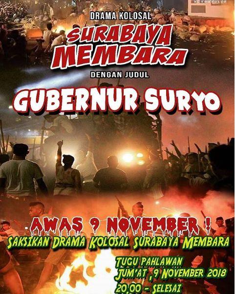 Belasan Korban Berjatuhan dalam Insiden Drama Kolosal Surabaya Membara