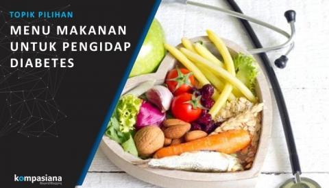 Pola Asupan Makan buat Pengidap Diabetes