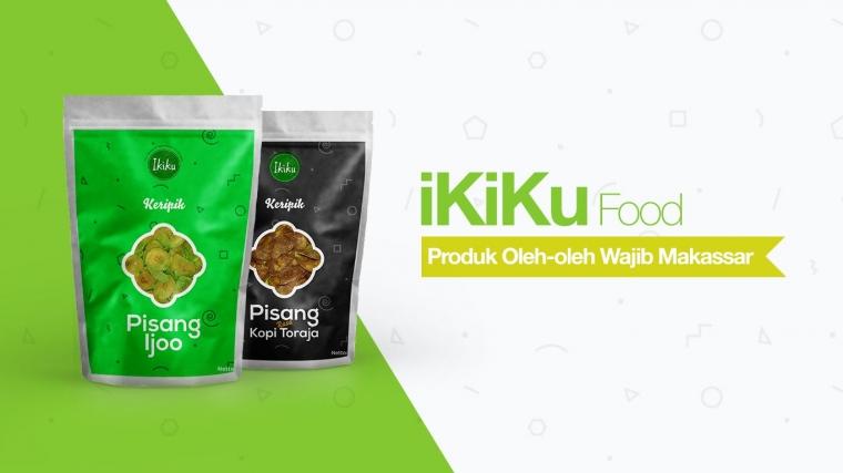 """""""iKiku"""", Kripik Pisang Khas dari Sulawesi Selatan"""