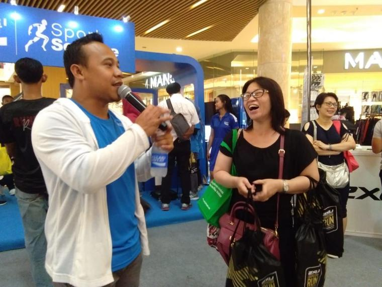Mall Kota Kasablanka Diserbu Peserta Lomba Lari 2XU