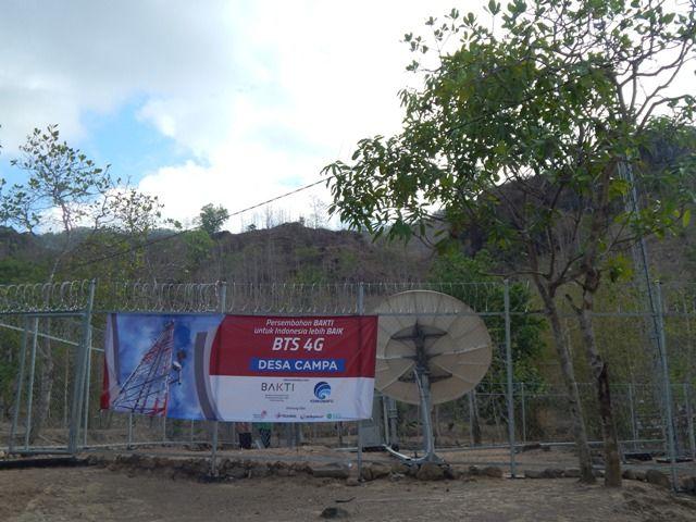 BTS Tenaga Surya, Solusi BAKTI untuk Pemerataan Sinyal di Wilayah 3T