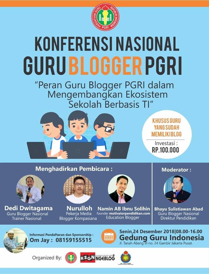 Konferensi Nasional Guru Blogger PGRI