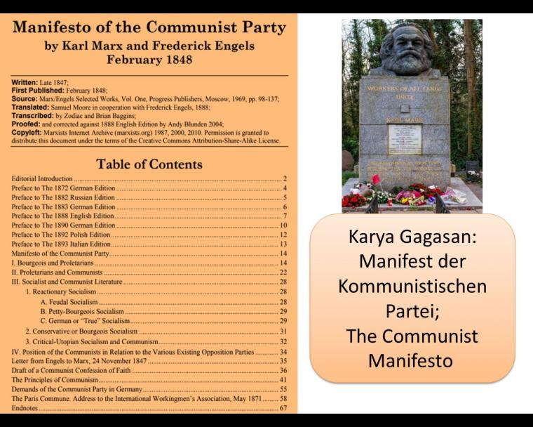 Analisis, dan Tafsir Literatur Marx [7]