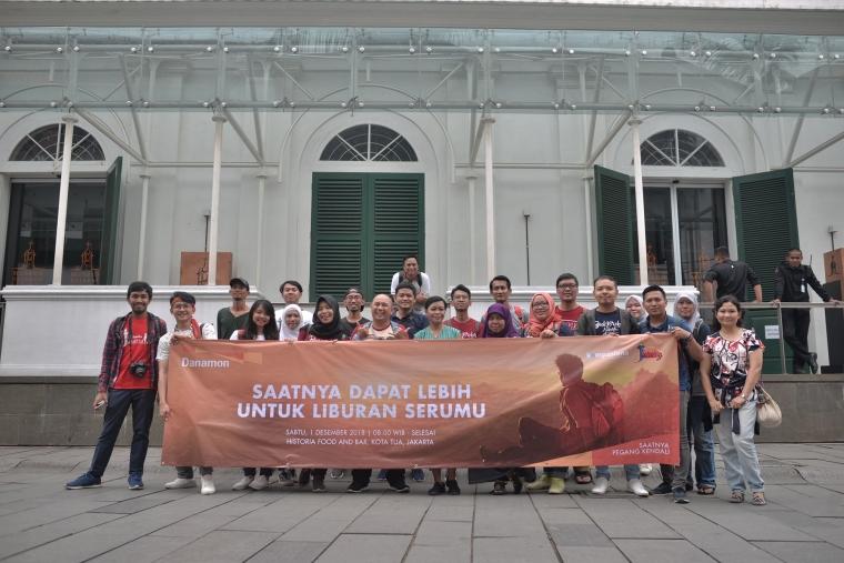 Akhir Pekan yang Berfaedah bersama Backpacker Jakarta X Kompasiana