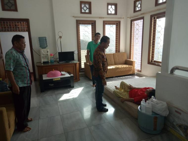 Bupati Bangka Tinjau Mess Pemda di Jakarta
