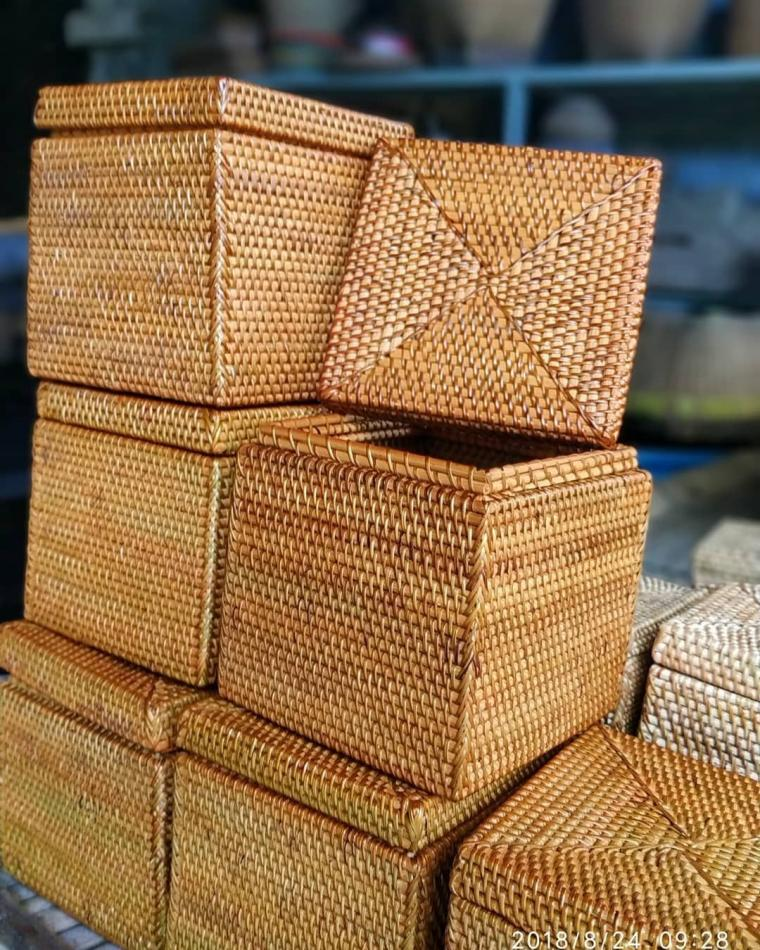 Semangat Baru Industri Anyaman Rotan Di Desa Beleka Lombok Tengah