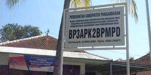 Ada-ada Saja, di Pangandaran Ada Kantor BP3APK2BPMPD