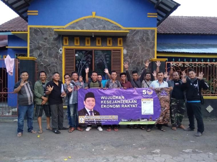 Pemuda-pemudi Kabupaten Grobogan Siap Menangkan Donny Imam Priambodo