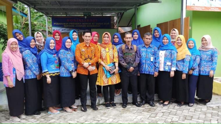 UPT Puskesmas Karya Penggawa Dorong Pekon Maksimalkan Pemanfaatan Dana Desa untuk Program Kesehatan