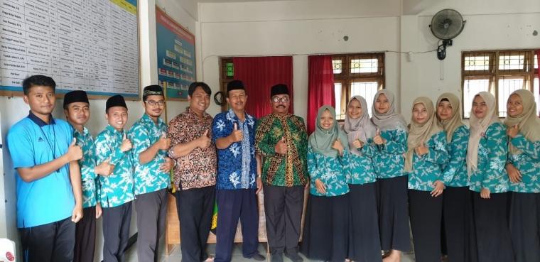 LP Ma'arif NU Banyuwangi Dukung MTs AL ISHLAH Muncar Makin Prestatif