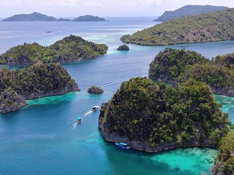 Terpikat Pesona Piaynemo dan Laut Raja Ampat