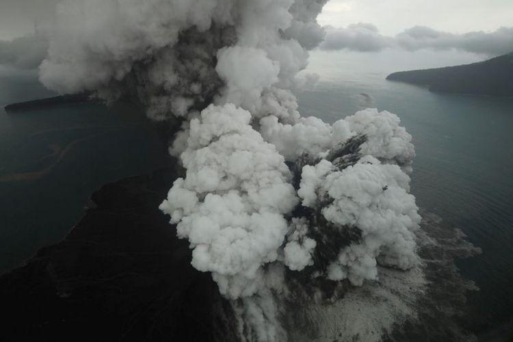 Penelitian 2012: Tsunami Selat Sunda Bisa Dicegah dengan Deteksi Cepat Reruntuhan Anak Krakatau