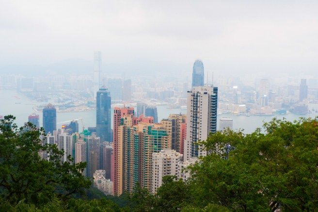 Menikmati Hong Kong dari Victoria Peak