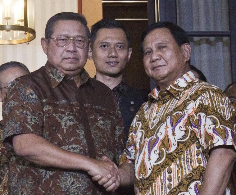 Prabowo Tertolong SBY