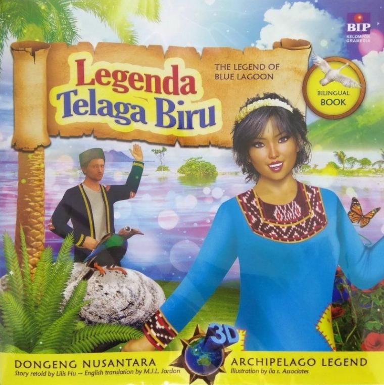 """Resensi Buku """"Legenda Telaga Biru""""(2018)"""