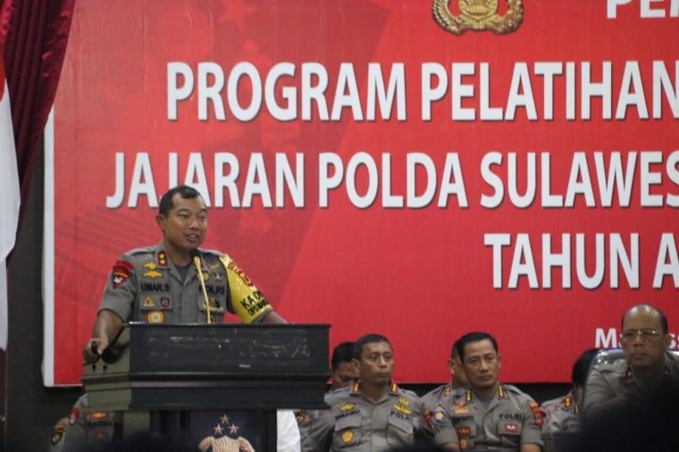 Kapolda Sulsel Buka Pelatihan Fungsi Teknis Kepolisian