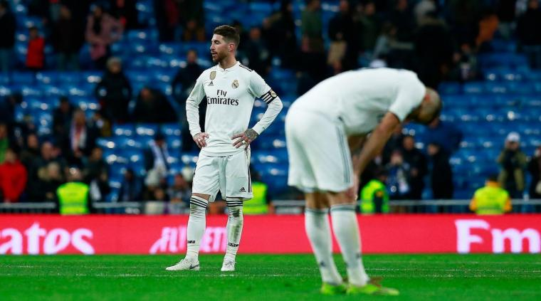 """Real Madrid yang Kini """"Akrab"""" dengan Kekalahan"""