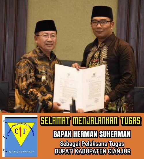Selamat Bertugas PLT Bupati Cianjur, CIF Ingatkan Soal Ini!