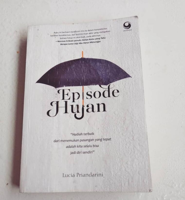 Review Episode Hujan Novel Pewarta Bertabur Kata Mutiara