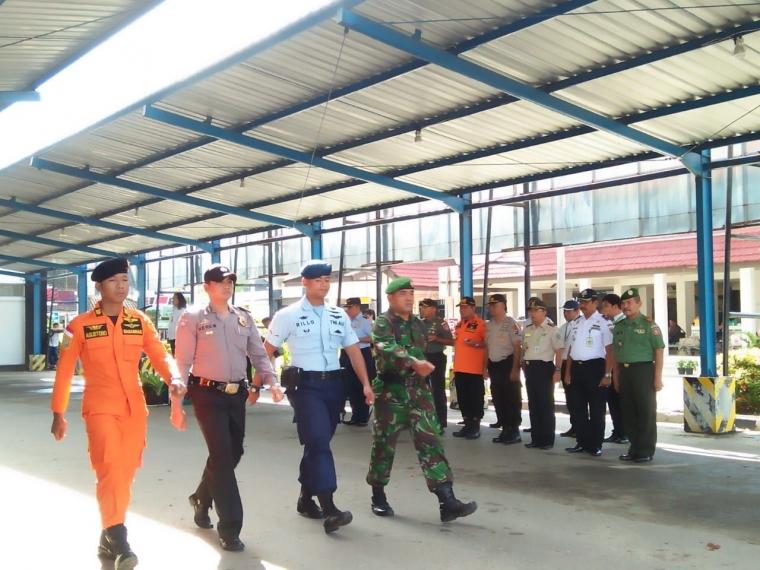 Posko Nataru Bandara Syamsudin Noor Resmi Ditutup