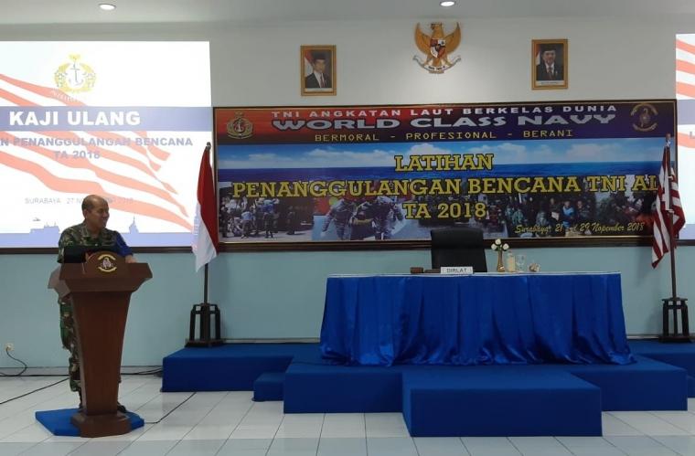 Latihan Penanggulangan Bencana dan Peran TNI pada Mitigasi Prabencana