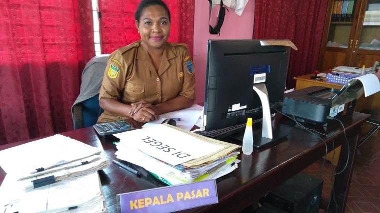 Perjuangan Perempuan Papua, Yuli Maniagasi Mengelola Pasar Agats