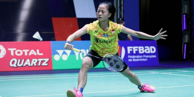 Thailand Masters 2019, Fitriani Lolos ke Perempat Final