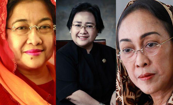 Jalan Berbeda Tiga Putri Bung Karno