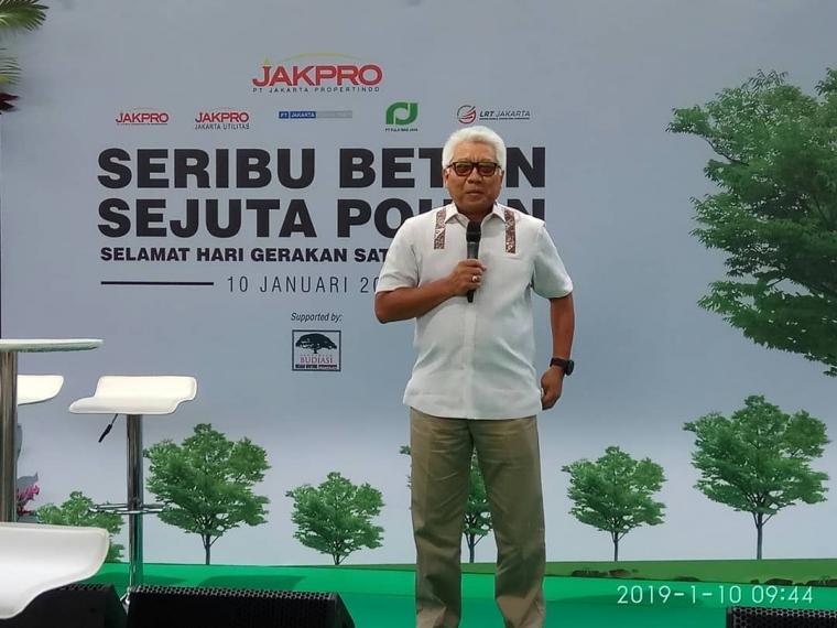 "Jakpro Peduli Lingkungan Hijau dengan Semangat ""Seribu Beton Sejuta Pohon"""