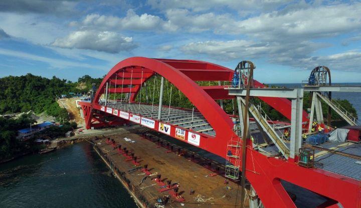 Istana Pasir Bernama Infrastruktur