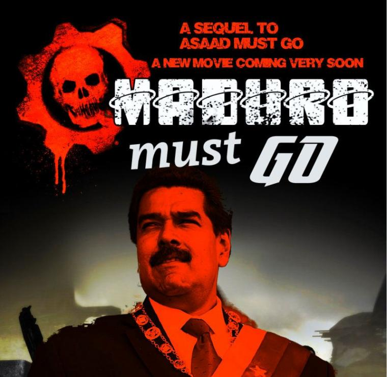 Coming Soon New Movie: Maduro Must Go!